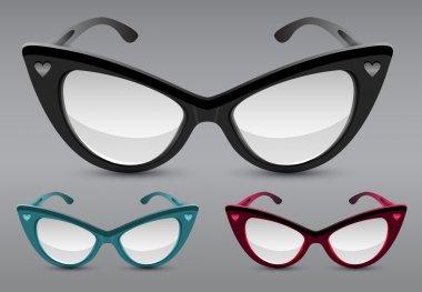 Retro sunglasses,  vector illustration stock vector