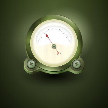 Vector Speedometer,  vector illustration stock vector