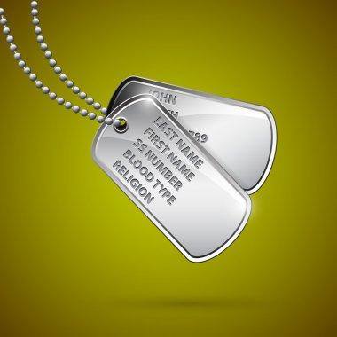 Vector identity tags, vector design stock vector