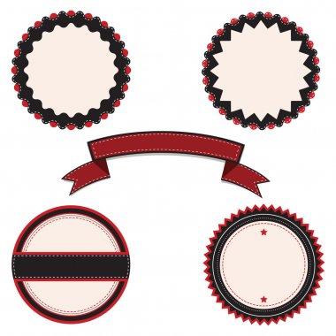 Vector banners,  vector illustration stock vector