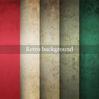 Vector vintage striped background stock vector