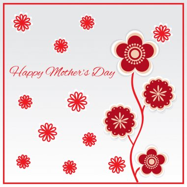 Happy mother day background. Vector illustration stock vector