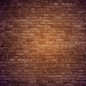 Vector brick wall background.
