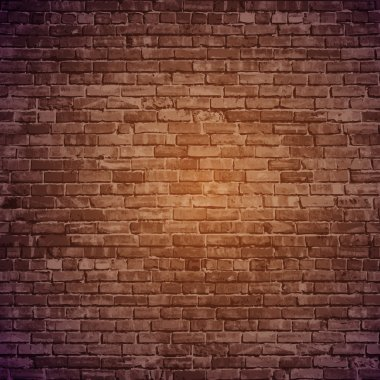 Vector brick wall background. stock vector