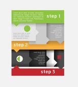 Vektorový infographic prvky. Vektorové ilustrace