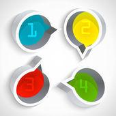 Vektorové ikony, vektorové ilustrace