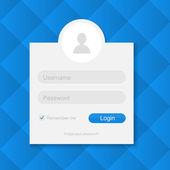 Login und Registrierung Vektor Illustration