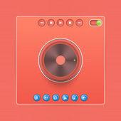Vektor Web-Audio-Player