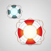 Vektor-Illustration des Rettungsgürtels
