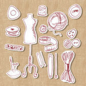 designer, hand made and craft, vector