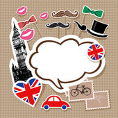 London doodles vector  illustration