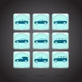 car icons vector  illustration