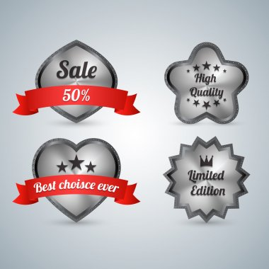 Sale labels  vector illustration stock vector