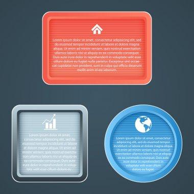 Vector icons,  vector illustration stock vector