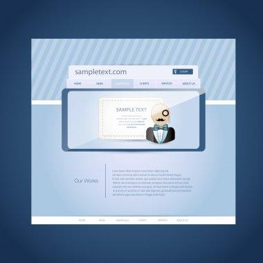 Login and registration vector illustration stock vector