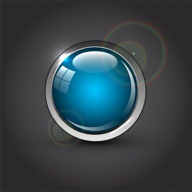 Button sign  vector  illustration stock vector