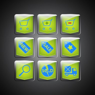 Sale icons. Vector vector  illustration stock vector