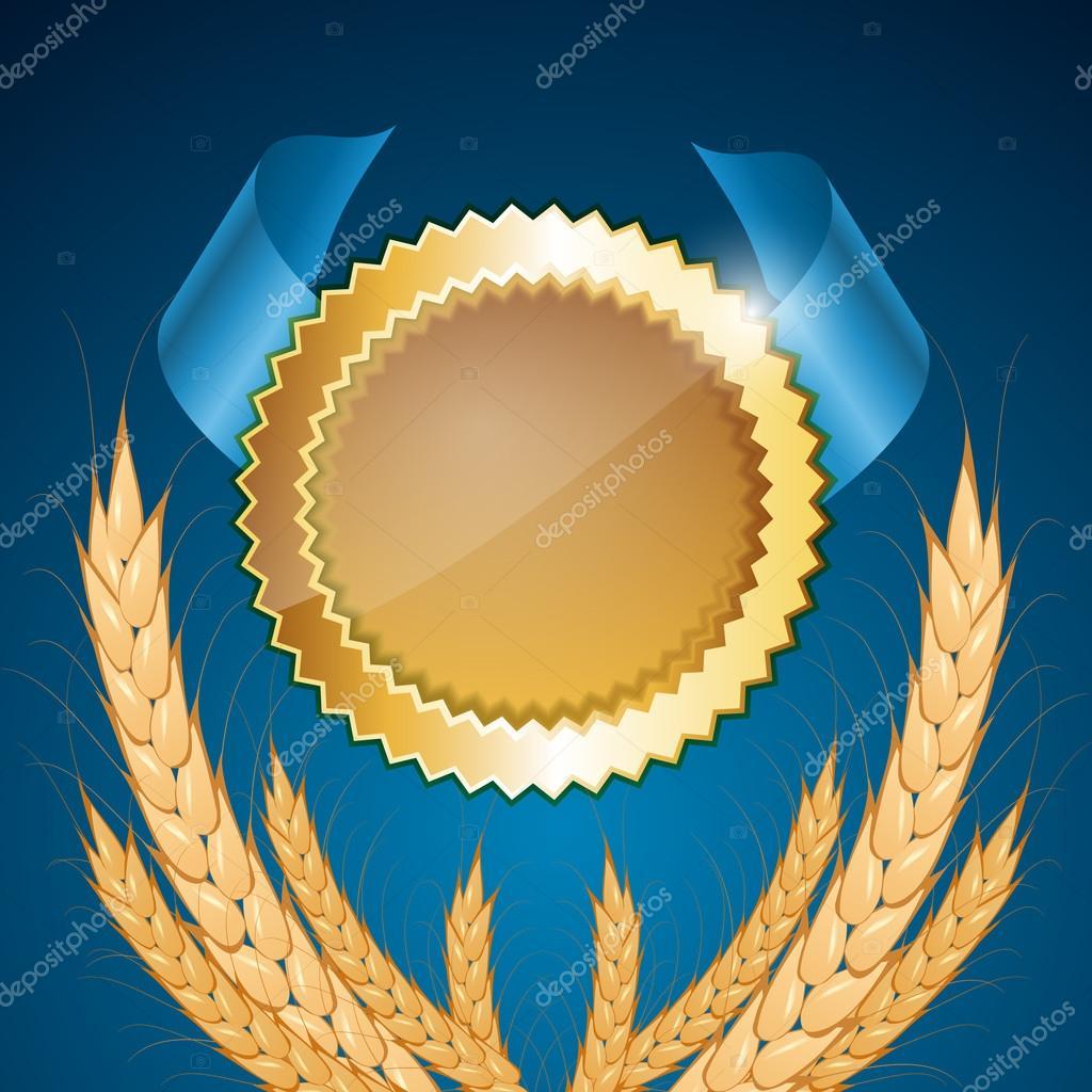 Vector medals. vector illustration stock vector