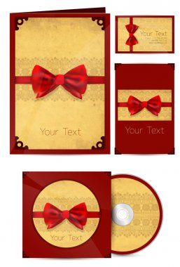 Selected Corporate Templates. Vector Illustration stock vector