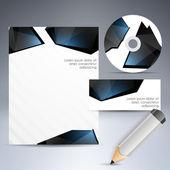 kiválasztott vállalati sablonok. vektoros illusztráció.