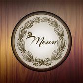 Étterem étlap tervezése