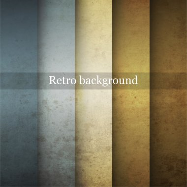 Grungy retro background. Vector illustration. stock vector