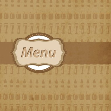 Restaurant menu design card stock vector