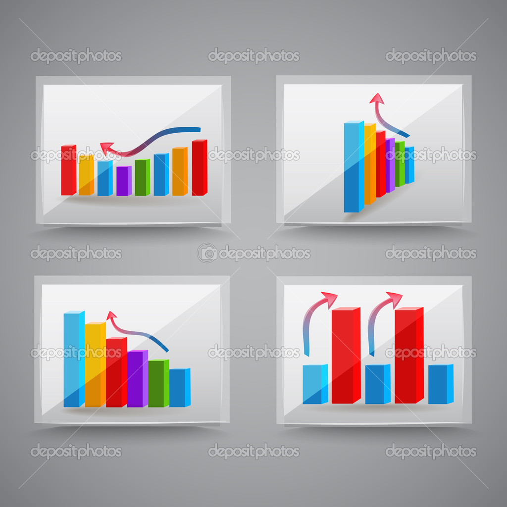 Success graphics. Vector Illustration stock vector