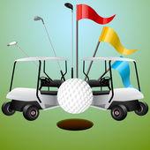 Golf Auto und Zubehör Set