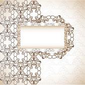 Scrapbook šablona, vektorové ilustrace