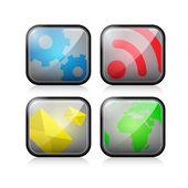 Weboldal vektoros ikonok beállítása