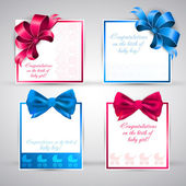 Note papers and scrapbook elements. Set of vector