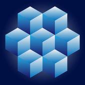 geometrischer Vektor Hintergrund Vektor Illustration