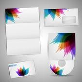 Kiválasztott vállalati sablonok vektoros illusztráció