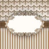 Vintage frame vector illustration
