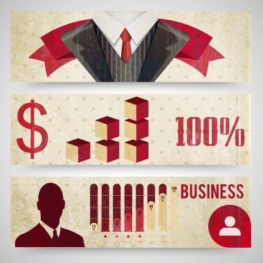 Finance icons made in business concept stock vector