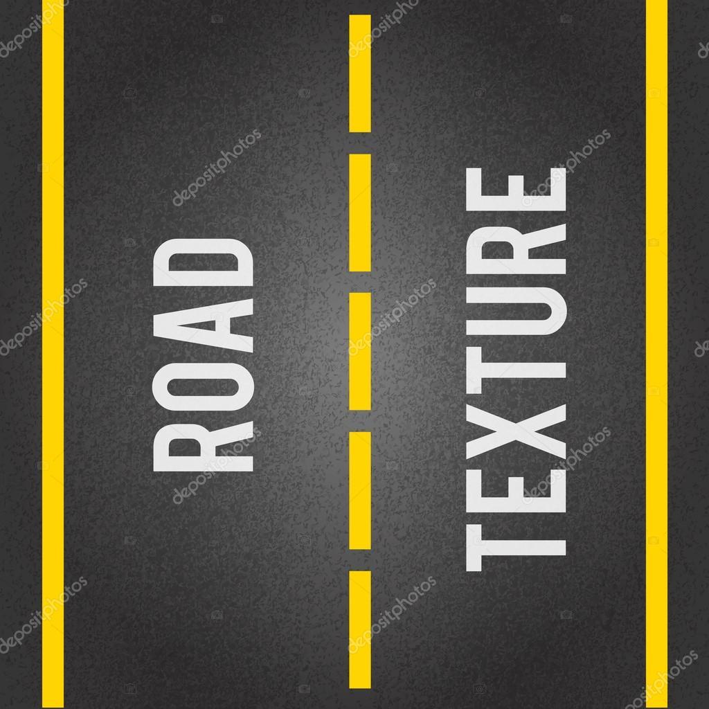 Road lines seamless pattern vector illustration stock vector