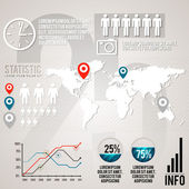 nastavit prvky infografiky. vektor
