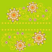 vektorové květinové pozadí návrhu