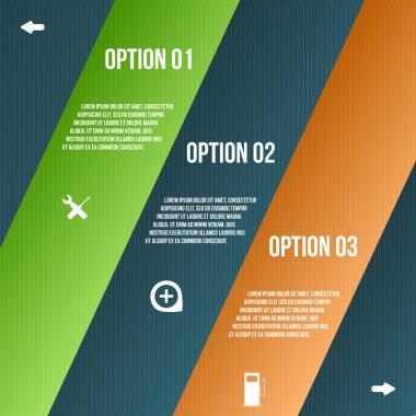Steps process arrows. vector illustration stock vector