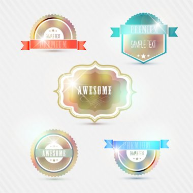 Vintage Styled Premium Quality stock vector