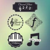 Reihe von Musik-Ikonen