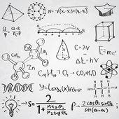 Symbolvektor für Wissenschaft und Bildung