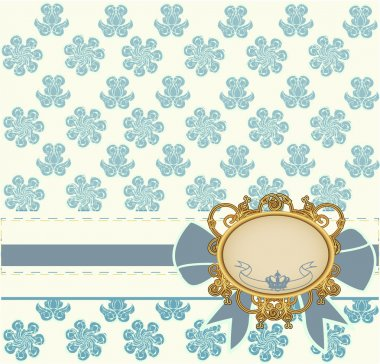 Vintage styled background, vector illustration stock vector