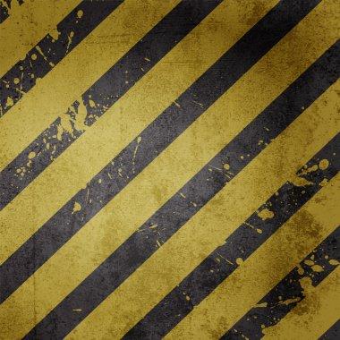 Hazard warning line background vector stock vector