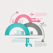 infografika cestování s dat ikony a prvky