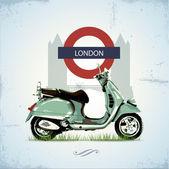 zelené vinobraní skútr v Londýně