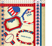 Made in USA emblems