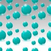 Vector seamless pattern of bubbles