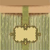 Retro-Hintergrund, Vektorillustration